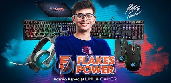 banner flakes linha gamer 2