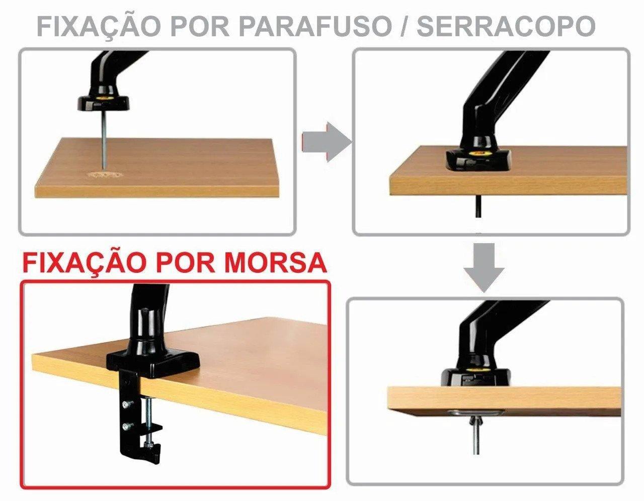 5 fixacao morsa parafuso suporte mesa