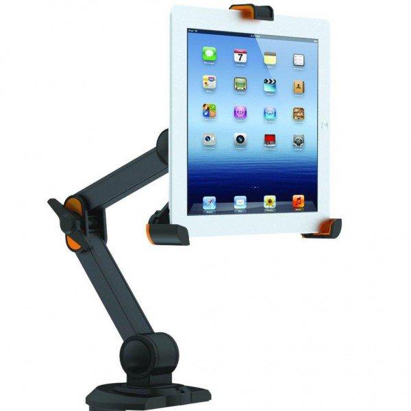 suporte articulado de mesa ipad tablets 8 a 10 1 tbm 4 3
