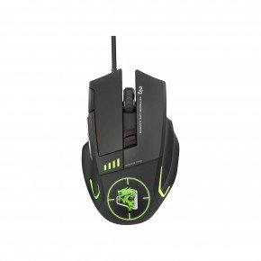 mouse gamer sniper pro rgb 6 botoes 5200 dpi mgsp elg 1