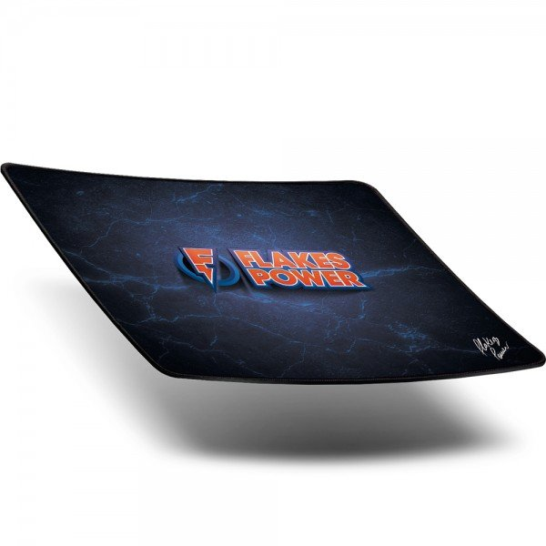 mouse pad gamer flakes power speed 36x30cm flkmp001 elg 1