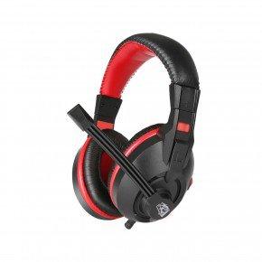 headset gamer exodus com microfone preto e vermelho hgex elg 1