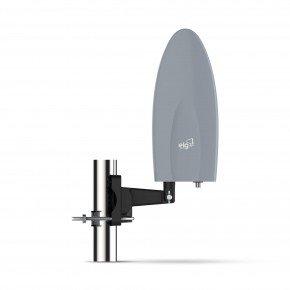 antena digital externa com cabo 10m falcon hdtvex500plus elg 1