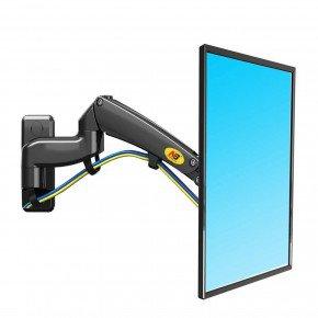 suporte articulado para tv 23 a 40 ajuste de altura f300 nb preto 1