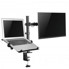 suporte de mesa duplo para monitor e notebook tm22nb 7