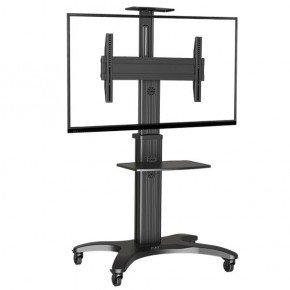 pedestal para tv 32 a 65 suporte videoconferencia com rodizios a06 1551 elg 1