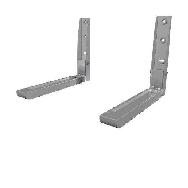 suporte para microondas universal mw03 elg prata cor inox 6