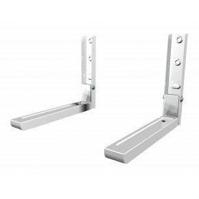 suporte para microondas de parede mw03 branco elg universal 4