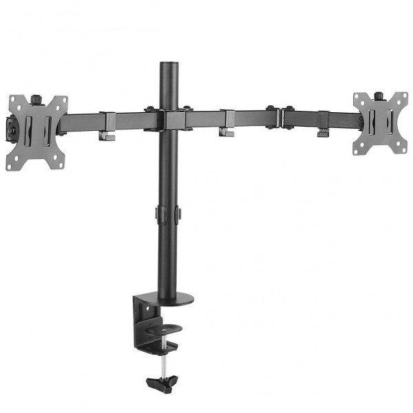 suporte para 2 monitores 15 a 32 base morsa t1224c elg 4
