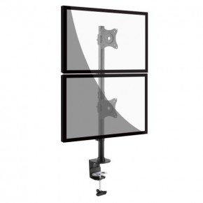 suporte 2 monitores vertical v1224c 3