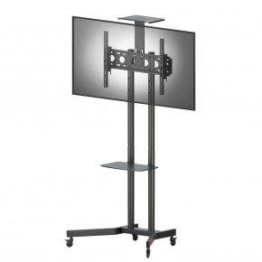 suporte pedestal tv 32 a 75 a06v6 s elg rack de chao piso 13