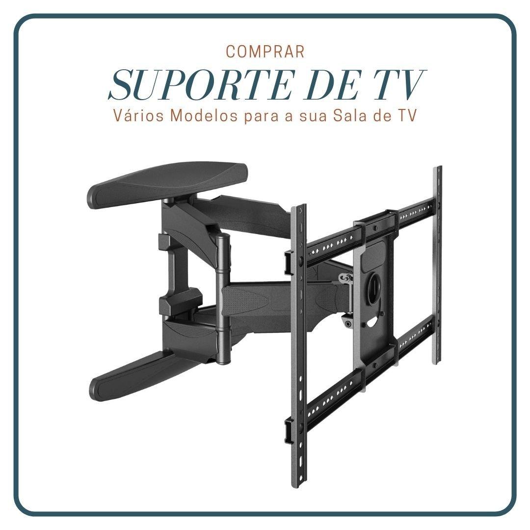 suporte articulado tv 32 a 75 polegadas a02v6 new 2 elg