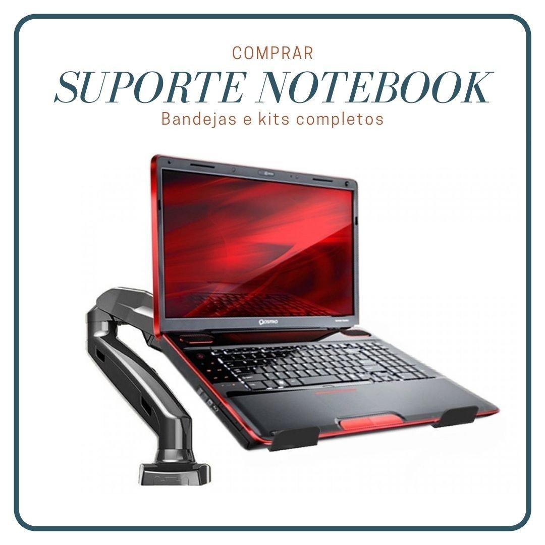 kit suporte articulado f80n elg bandeja notebook nbh 1
